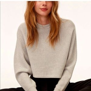 Wilfred Cropped Lolan Sweater